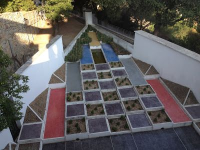 Villa Noailles | jardin cubiste | Pinterest | Jardins