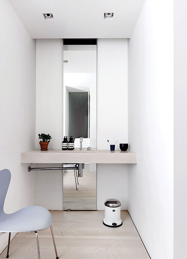 designed long bathrooms. Long mirror  MirrorOversized MirrorKey DesignBathroom A Tour of the Exquisite Dinesen Home in Copenhagen