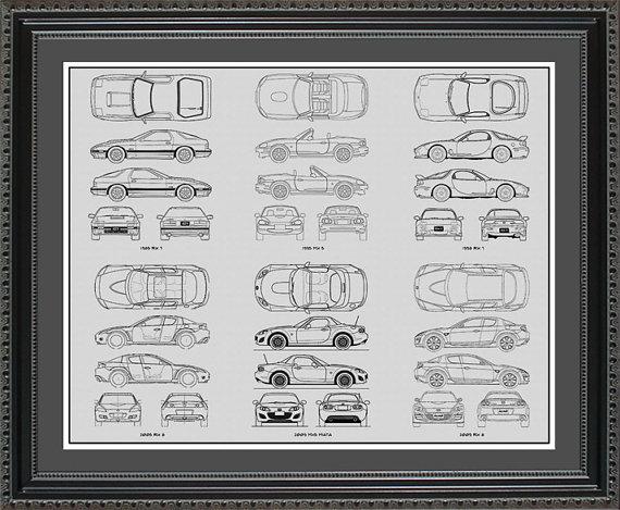 Mazda blueprint collection drawing art car auto by conceptproducts mazda blueprint collection drawing art car auto by conceptproducts malvernweather Choice Image