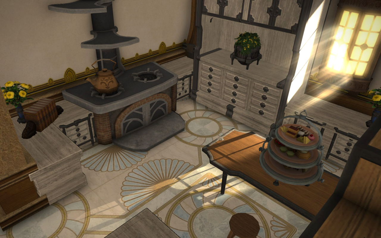 Image Result For Ffxiv Kitchen Ideas Final Fantasy 14 Fantasy House Final Fantasy Xiv