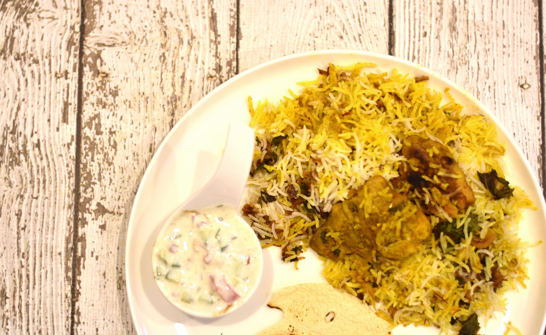 30-Minute Chicken Biryani in Instant Pot