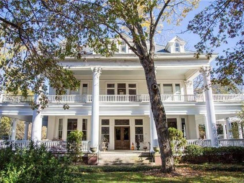 1910 Mccristy Knox Mansion In Enid Oklahoma Captivating Houses