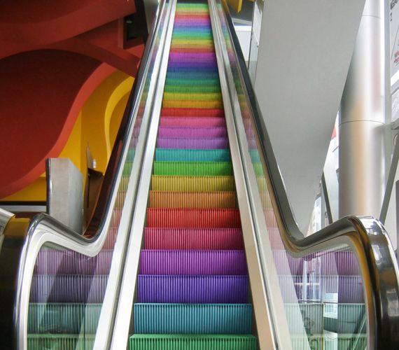 Where Does The Rainbow Escalator Lead