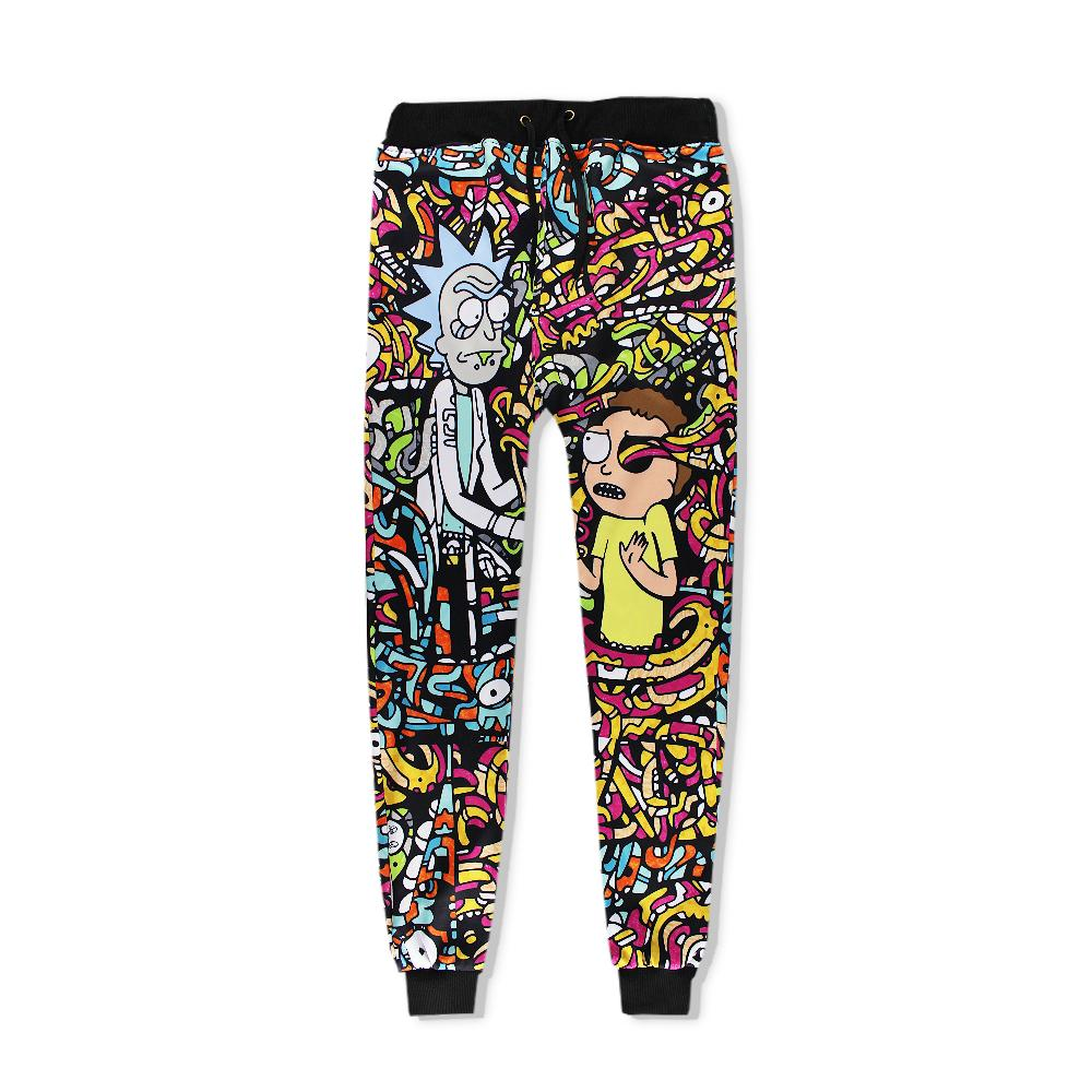 4cf6f15e157d Ricky And Morty 3D Joggers