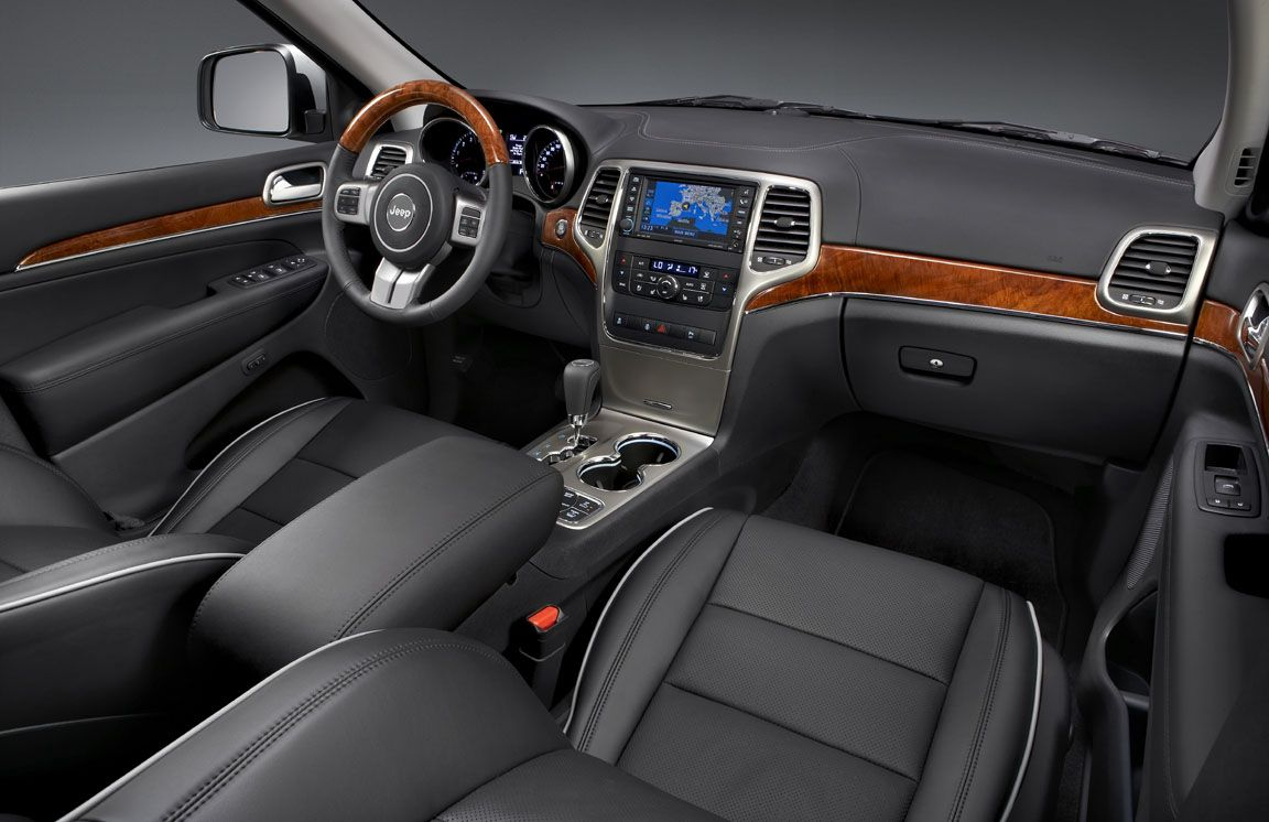 Overland Interior Jeep Grand Cherokee Jeep Grand 2011 Jeep