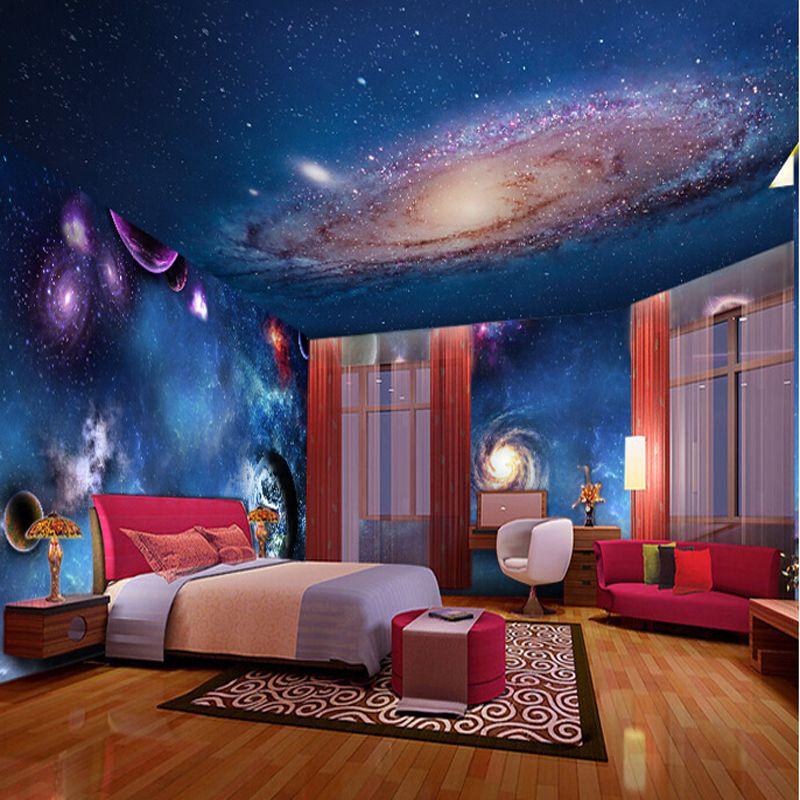 pas cher papier peint 3d st r oscopique toile chambres d 39 enfants pinterest papier peint. Black Bedroom Furniture Sets. Home Design Ideas