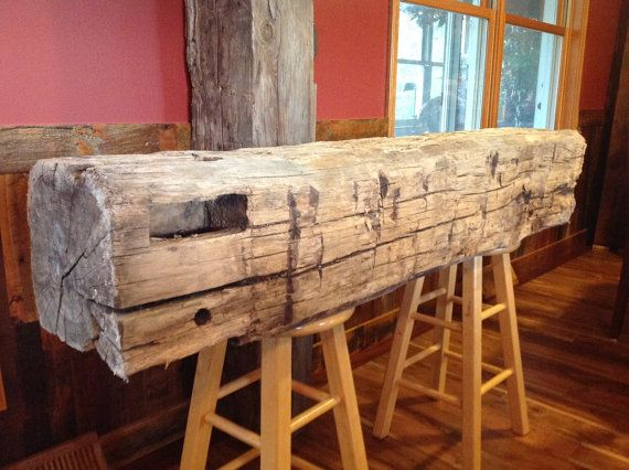 This Old But Beautiful Hand Hewn Barn Beam Is Perfect