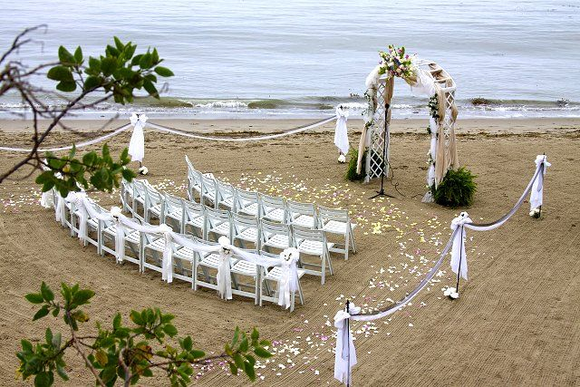 Butterfly Beach Santa Barbara Beach Weddings Santa Barbara