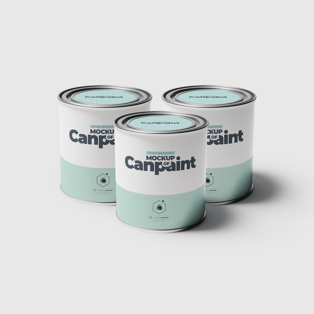 25 Best Paint Bucket Can Mockup Templates Psd Paint Buckets Mockup Templates Cool Paintings