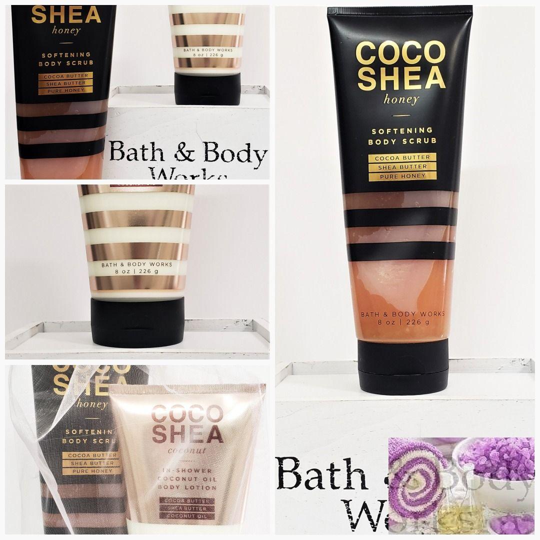 Bath and Body Works Coco Shea Coconut Body Scrub & In