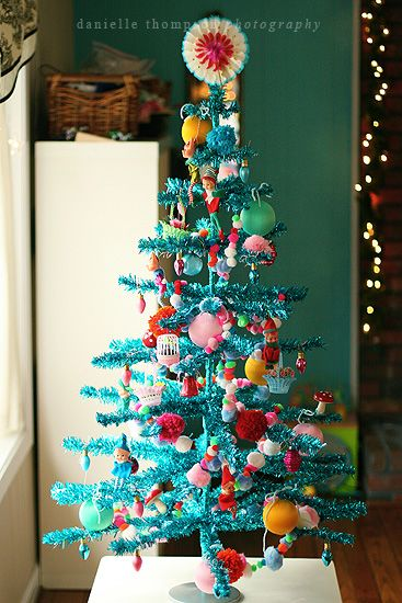 think I\u0027ll have a turquoise Christmas tree like this one next year