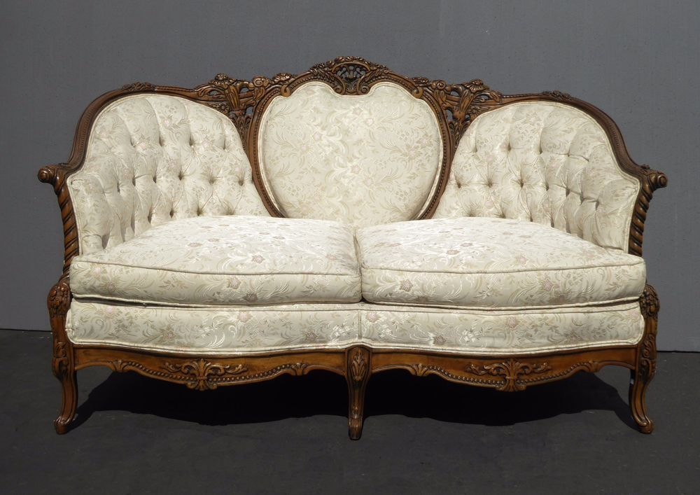 Details About Designer French Provincial Carved Rococo