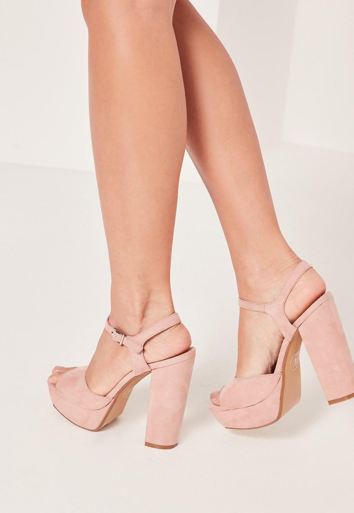 blush pink strappy sandals online store