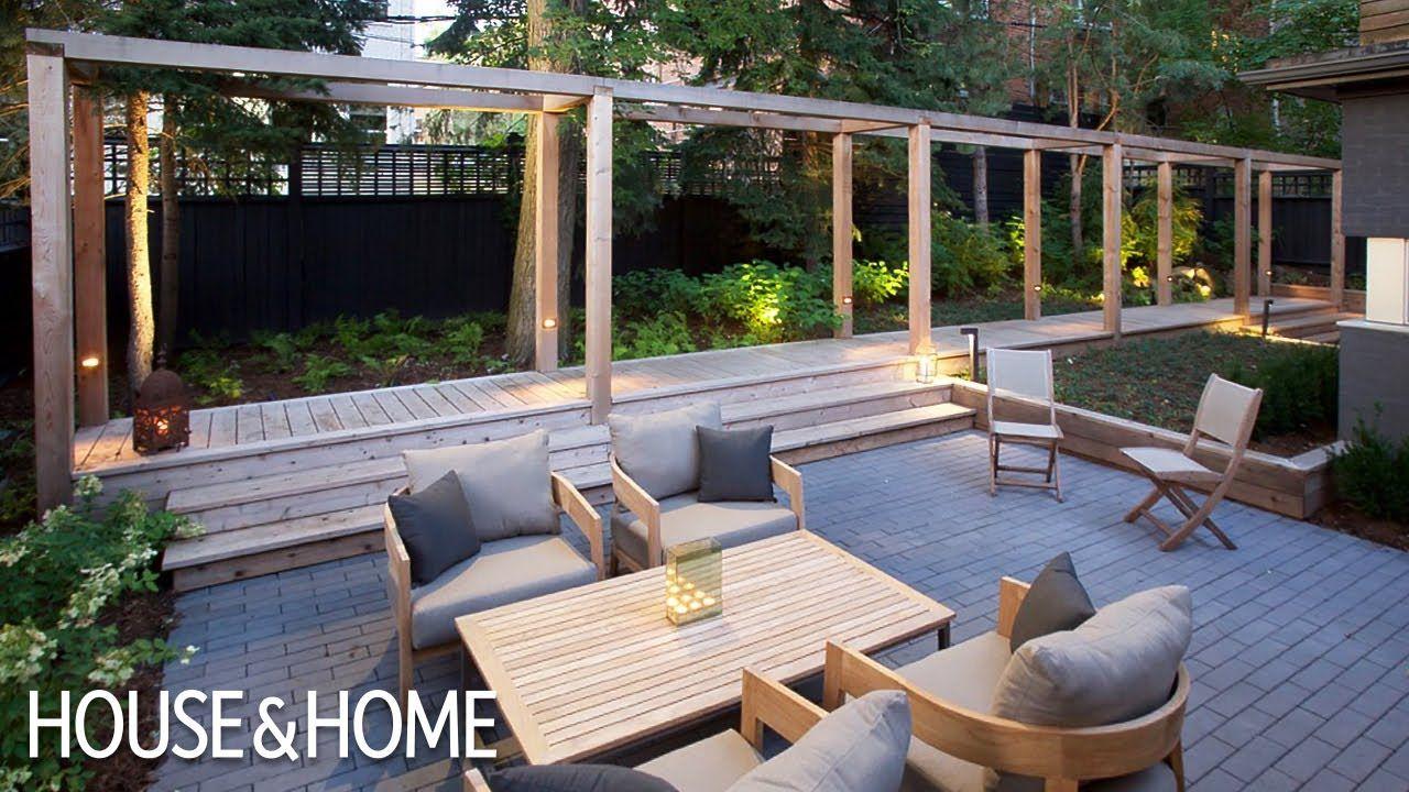 A Modern Urban Garden Makeover