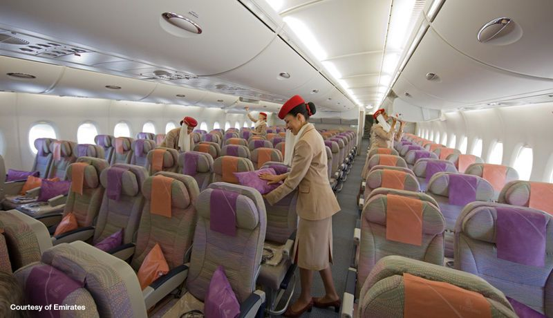 Inside Aircraft Cabin Photos A380 3d View Airbus