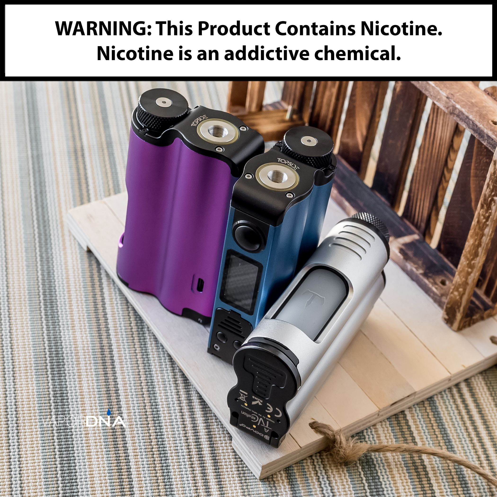 Dovpo X Tvc Topside 90w Squonk Box Mod What S New Cable One
