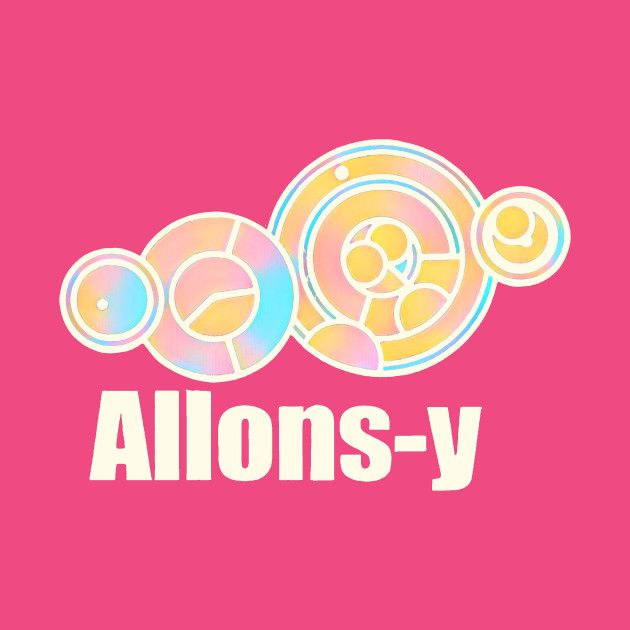 Check out this awesome 'Allons-y+in+Circular+Gallifreyan' design on @TeePublic!