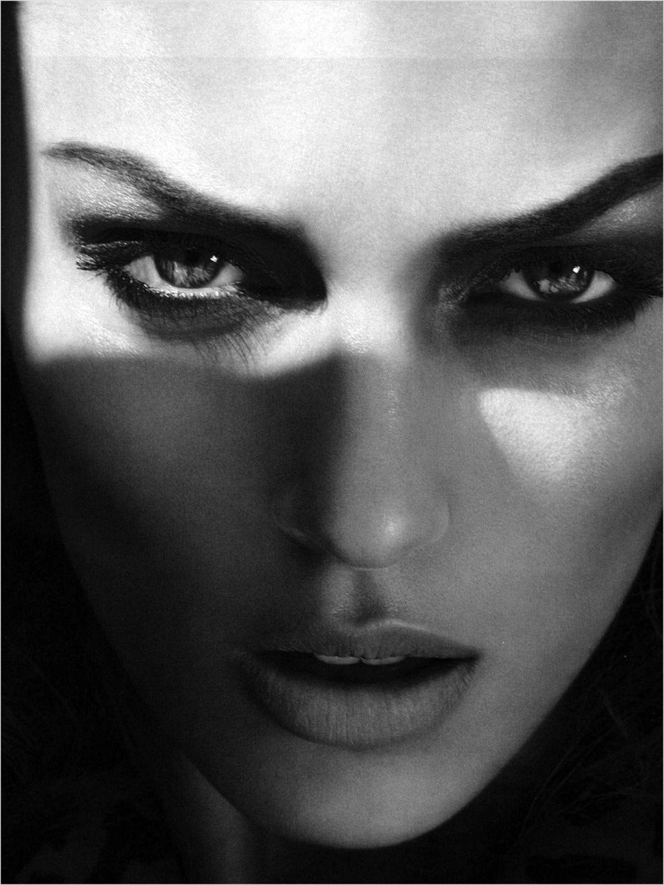Dark Black Shadow Photography Beautiful Amazing Strong Free Deep Www Republicofyou Com Au Anja Rubik Fashion Shadow Photography