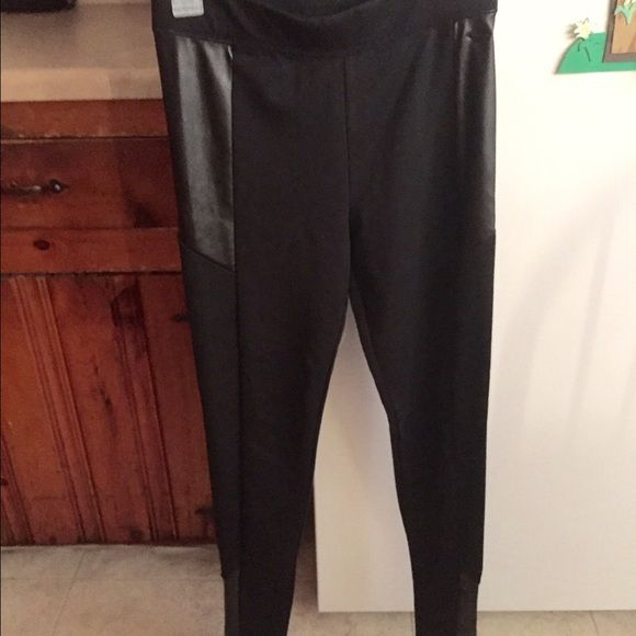 online sale complete range of articles sold worldwide FIRM! Pleather PINK V.S. Yoga Pants Like new pleather yoga ...