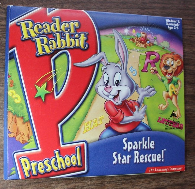 Reader Rabbit Preschool Sparkle Star Rescue The Learning