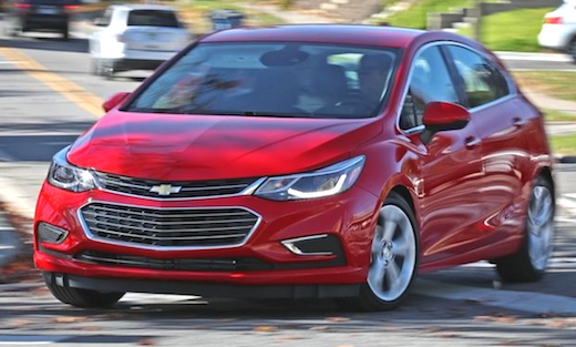 2019 Chevrolet Cruze Hatchback Rumors Little Vehicles Are