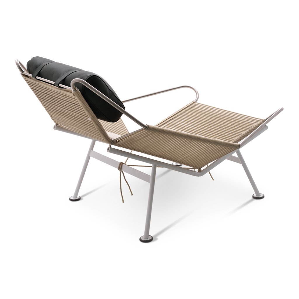 Flag halyard chair natural cord color chair iconic