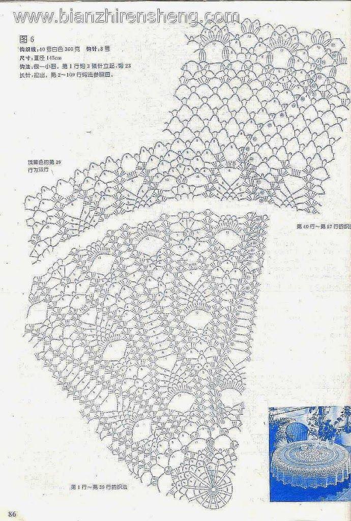 Picasa Web Albums   Patterns   Pinterest   Caminos de mesa, Mantel y ...