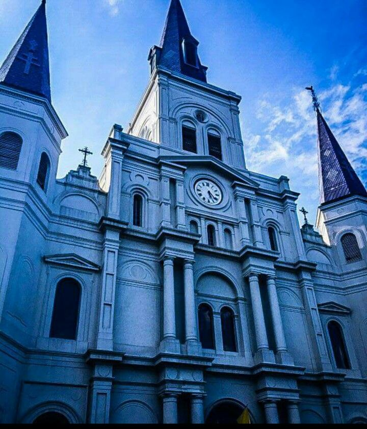 297 years old. New Orleans Jackson square, New orleans