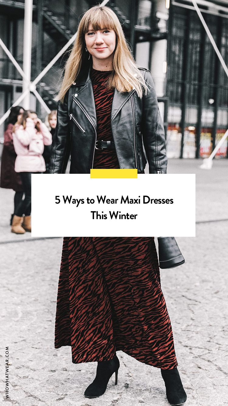 d0c9746159ee 5 Ways to Wear Maxi Dresses This Winter | c o n t r i v e | Winter ...