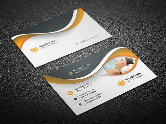Beauty Spa Business Card Templates Features Of Template 3 5x2 75 X 2 25 With Bleed Settings 04 Color Ver By Create Art
