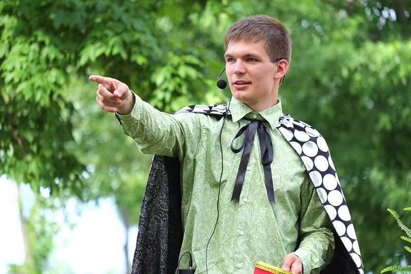 Magician Charley Hagen will be back at Spass-Tagen 2016!