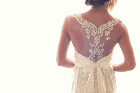 LOVE lace backs!