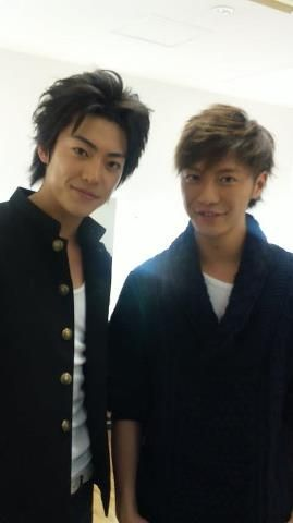 shunsuke daito...and Narimiya Hiroki? When did This happen?
