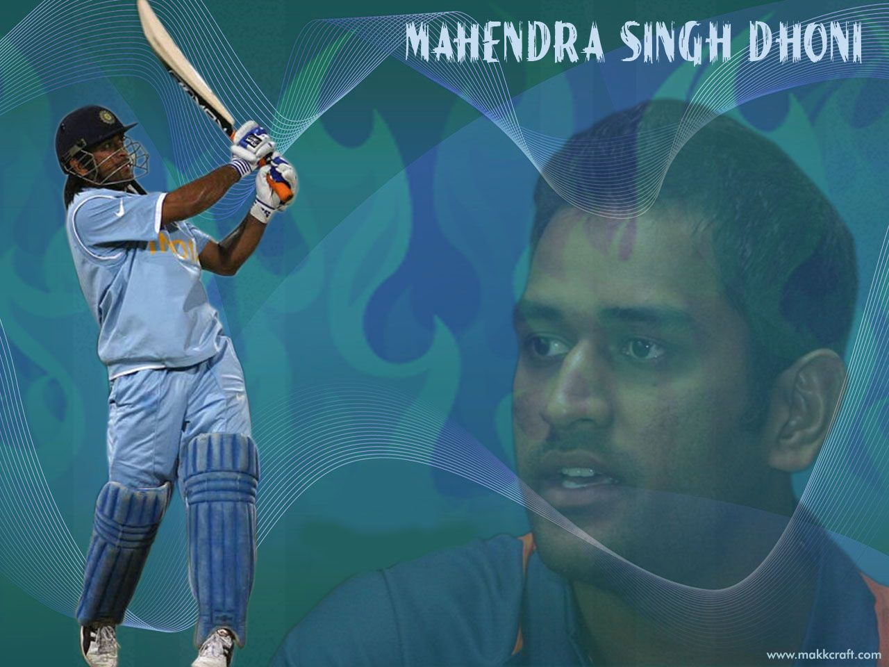 wallpaperswide wallpaperswide Latest Photo of Mahendra Singh Dhoni from Asia Cup 1280x960