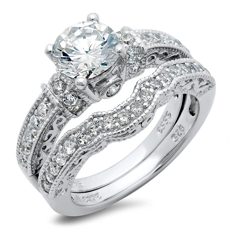 Cubic Zirconia Wedding Rings C Z Jewelry promises you full