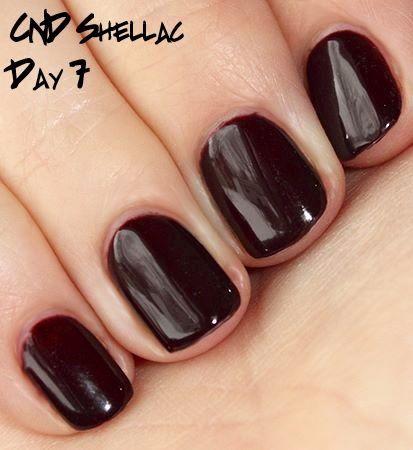 Shellac Burgundy Shellac Nails Fall Nails Nail Colors