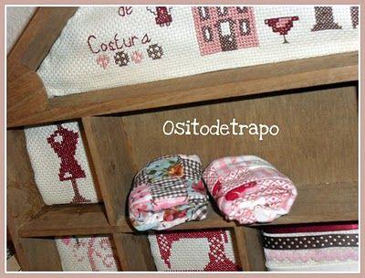 Ositodetrapo: Mini colchas de patchwork