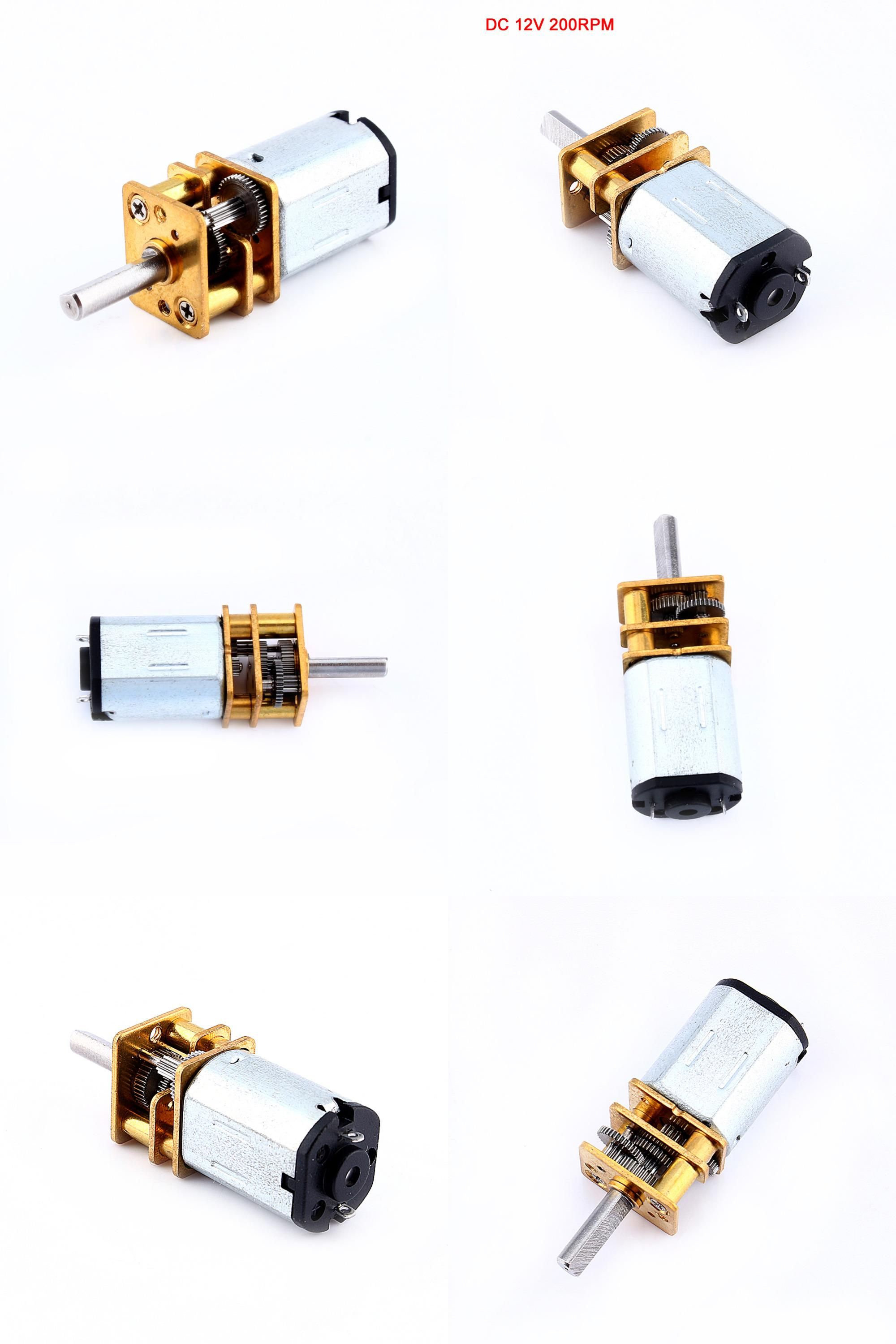Visit To Buy Dc12v 200rpm Gear Motor N20 Micro Speed Reduction Gear Dc Motor With Metal Gearbox Wheel Adv Motor Speed Usb Flash Drive Stuff To Buy