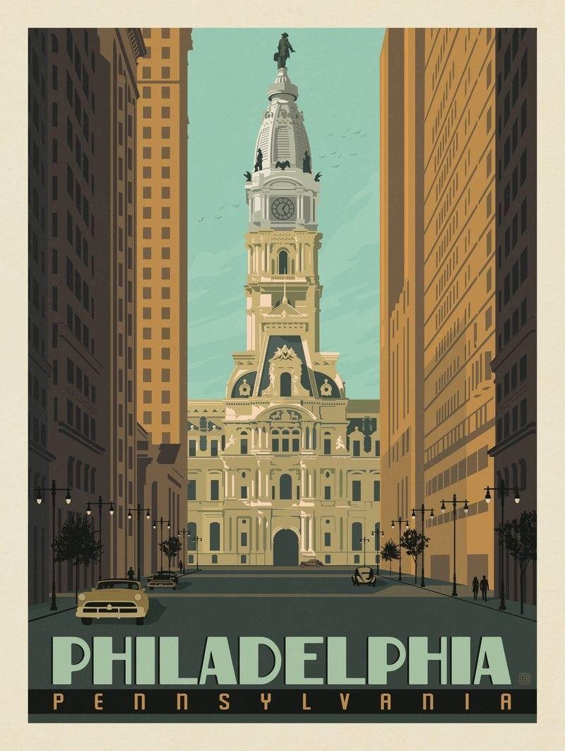 Anderson Design Group American Travel Philadelphia City