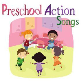 Groove and learn with Preschool Action Songs. These songs are the perfect warm up for starting class or as a quick, energy booster (transition) between activities.