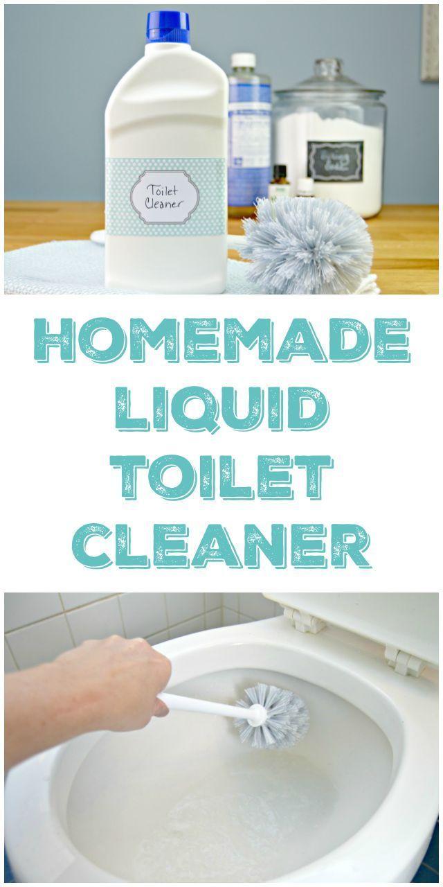 Homemade Toilet Cleaner Liquid Version Naturliche