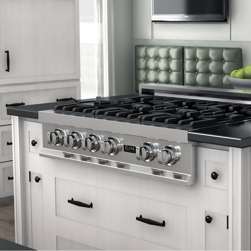 36 Gas Cooktop With 6 Burners In 2020 Gas Stoves Kitchen Gas Cooktop Cooktop