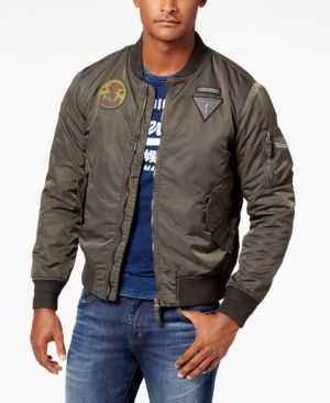 a865bc56a62 Superdry Men s Limited Edition Flight Bomber Jacket - Green XXL ...