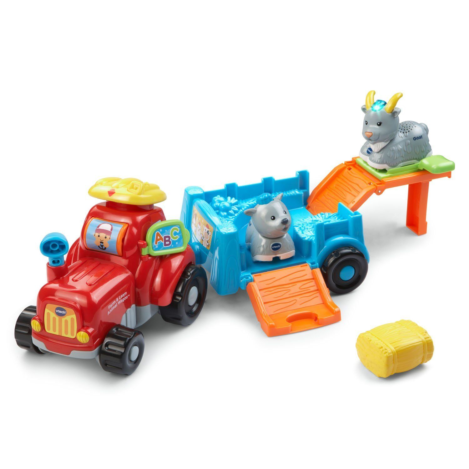 VTech Go Go Smart Animals Farm and Learn Tractor Playtime goes