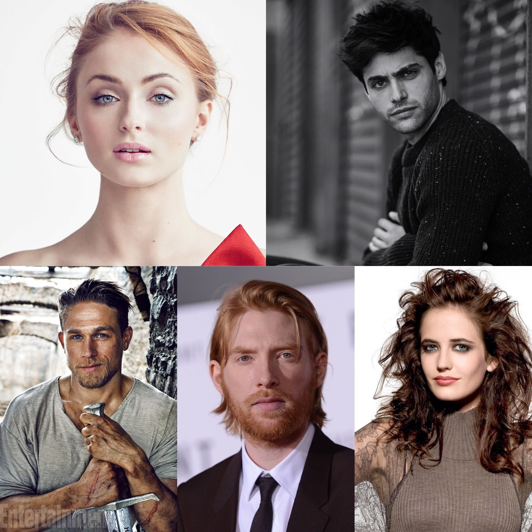 Fancast For Acotar Sophie Turner As Feyre Matthew Daddario As
