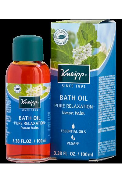 Kneipp Lemon Balm Herbal Bath Oil For Pure Relaxation Bath Oils Lemon Balm Essential Oil The Balm