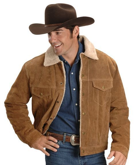 Brown Style Cowboy Leather By Men Jacket Pure WIeYbH29ED