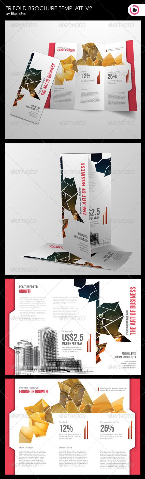multipurpose trifold brochure v 2 graphicriver print dimensions