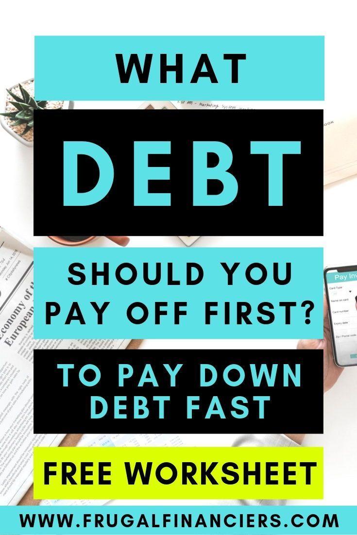 Wie man entscheidet, welche Schulden zuerst zurückgezahlt werden sollen   – Neat Ideas — go through