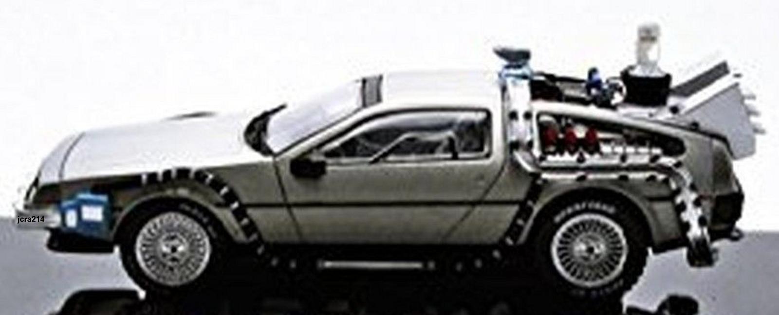 Delorean Back To The Future Time Machine W Mr Fusion 1 43 By Elite Hot Wheels Ebay Delorean Back To The Future Hot Wheels